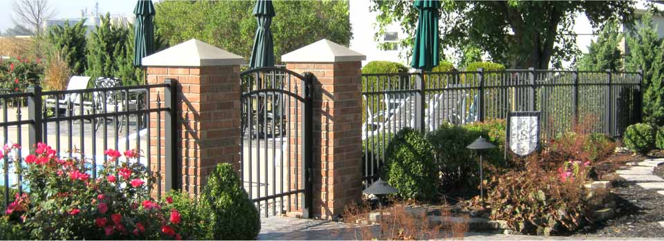 Make your yard the talk of the town with high quality aluminum decorative fencing from Gleave!